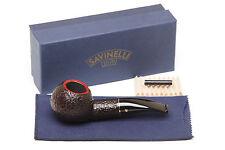 Savinelli Roma 320 KS Black Stem Tobacco Pipe