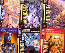 The Authority, nº 7, 8, 9, 10, 11 y 13, World Comics, Planeta-DeAgostini Comics