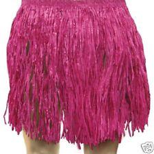 HAWAIIAN ADULT FANCY DRESS PINK Hula Skirt