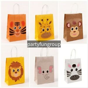 Jungles Safari  Paper Bag / Lollies Gift Bag Party Decoration Party Supplies