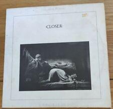 JOY DIVISION Vinyl LP Closer FACT XXV 9/5/80 Factory Records OLD BLUE?