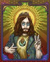 Emek John Lennon Blotter Art | BRAND NEW | LIMITED EDITION # 49/140 | FREE SHIP