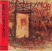 BLACK SABBATH - MOB RULES DELUXE EDITION ( 2 MINI LP AUDIO CDs with OBI )