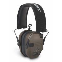 Walkers Game Ear ELECTRONIC Muff - Razor Slim 23db (Color: Flat Dark Earth)