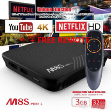Mecool M8S PRO L OctaCore 32G Android 7.1 Support Voice Control TV Box Dual WIFI