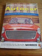 AUTOCAR LONDON SHOW REPORT, OCT. 1965