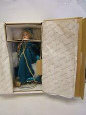 "Danbury Mint Heirloom Doll ""Rapunzel"" Mib Storybook Doll Collection Coa"