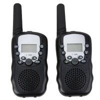 Deux 8 canaux Talkie Walkie PMR systeme UHF400-470MHZ 2-Way Radio Gamme de O5W9