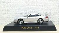 1/64 Kyosho PORSCHE 911 GT3 SILVER diecast car model
