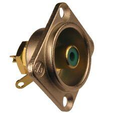 Neutrik nf2d-5 cinch-instalación conector RCA Type D niquelados dorado verde 853854