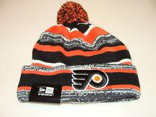 Philadelphia Flyers Cap Hat NHL Hockey New Era Beanie Toque OSFM NE 14 Sport Pom