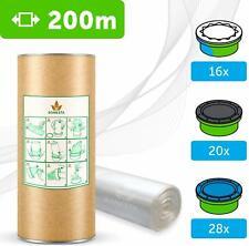 200 M. ECO Recharge de Poubelle à Couches Compatible Tube Carton Sac Poubelle