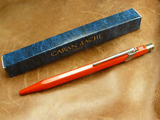 CARAN d'ACHE  849 RED  METAL BALLPOINT PEN SWISS MADE   NEW/BOXED FREE SHIPPING