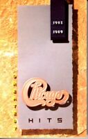 Chicago Greatest Hits 1982-1989 Hard Classic Rock Roll Cassette Tape Pop