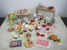 DISHES, FOOD, MINIATURES FOR BARBIE, DOLLHOUSE OR COLLECTORS,  #0019