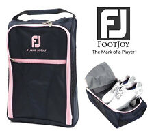 New Genuine FOOTJOY Golf Shoes Bag Zipped Sports Bag Shoe Case - Pink Color