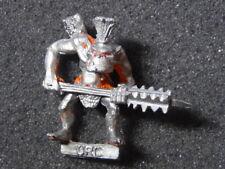 Warhammer Fantasy Vintage Orc Warrior #1 Citadel Miniatures Games Workshop 1980s