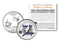 TAMPA BAY LIGHTNING NHL Hockey Florida Statehood Quarter U.S. Coin * LICENSED *