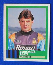 FIGURINA VALLARDI E' IL CALCIO 92/93 - N.135 - ABATE - INTER - new