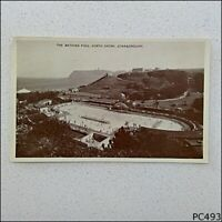 The Bathing Pool North Shore Scarborough 1953 Postcard (P493)