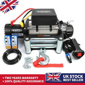 ELECTRIC WINCH 12V 4x4 CAR 13500lb - RECOVERY- OFF ROAD - WIRELESS HEAVY DUTY