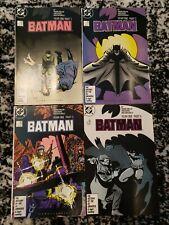Batman Year One 1-4 by Frank Miller (DC Comics, 1987) Original Complete Set