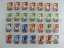 28 Karten - Topps - Match Attax Trading Card Game - 2013/14 (290-436) (rot)