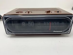 Panasonic RC-6015 Back To The Future Flip Clock Radio Parts Clock