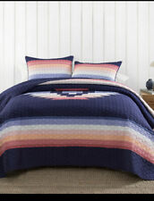 NIP Pendleton Home Collection Sunset Canyon Full/Queen Quilt & Shams Set 3pc