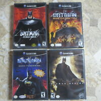 BATMAN VENGEANCE RISE OF SIN TZU DARK TOMORROW BEGINS✨Nintendo Gamecube Complete