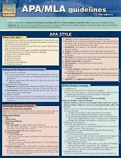 Apa/Mla Guidelines by Inc. BarCharts (2011, Book, Other)