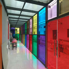 Colorful Window Film Glass Foils For House Office Building Glass Sticker