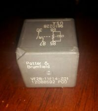 Potter & Brumfield GM gray multi-purpose relay VF28-11F14-Z01 12088592 P00