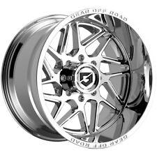 4 Gear Off Road 761c Ratio 18x9 8x170 18mm Chrome Wheels Rims 18 Inch