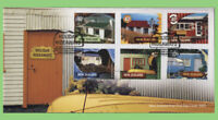 New Zealand 2002 Holiday Hideaways set on First Day Cover