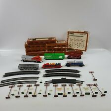 Lot Of Vintage Tyco HO Scale Train Toys with Original Boxes No Power Supply