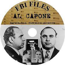 Al Capone FBI Files