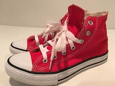 Converse All Star Chuck Taylor Youths High Top Athletic Shoes Size 2.5