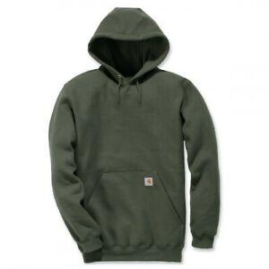 Carhartt Hoodie Kapuzenpullover Sweatshirt Streetwear Outdoor Freizeit Moss K121