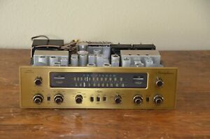 VTG (1964) The Fisher 600 Stereophonic AM/FM Tube Stereo Tuner Receiver