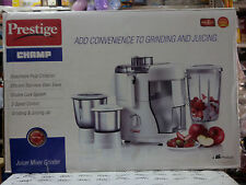 PRESTIGE CHAMP  JUICER MIXER GRINDER  550 WATT With Vat Paid Bill 2 years ....