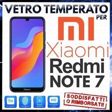PELLICOLA VETRO TEMPERATO XIAOMI REDMI NOTE 7 / 7 PRO Protezione Display Global