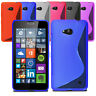Slim Soft Wave Gel Case Soft Phone Cover For Microsoft Lumia 640 LTE & Screen