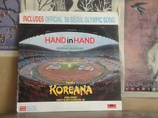 HAND IN HAND GIORGIO MORODER, KOREANA OPENING CEREMONY '88 SEOUL OLYMPICS LP