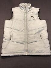 RocaWear Vest Mens Sz.M-Polyester-Gray Zip Up-EUC