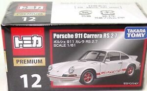 "TOMY NO. 12 ""PREMIUM"" PORSCHE 911 RS 2.7 - NEW IMPORT IN SEALED BOX"