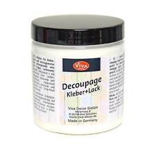 Viva Decor Decoupage Glue & Varnish - 250ml Glossy