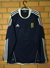 Scotland Home football shirt 2010 - 2011 long slevee Size L jersey soccer Adidas