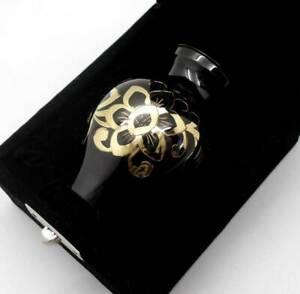 "3"" Solid Brass Elegance Cremation Memorial Keepsake Ashes Urn + Case + Post, NIB"