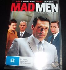 Mad Men The Complete First Season 1 (Australia Region 4) DVD – New